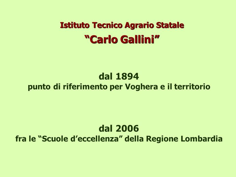 Istituto Tecnico Agrario Statale Carlo Gallini