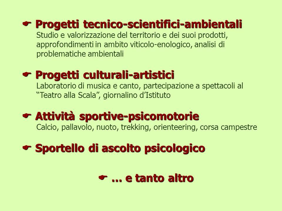 Progetti tecnico-scientifici-ambientali