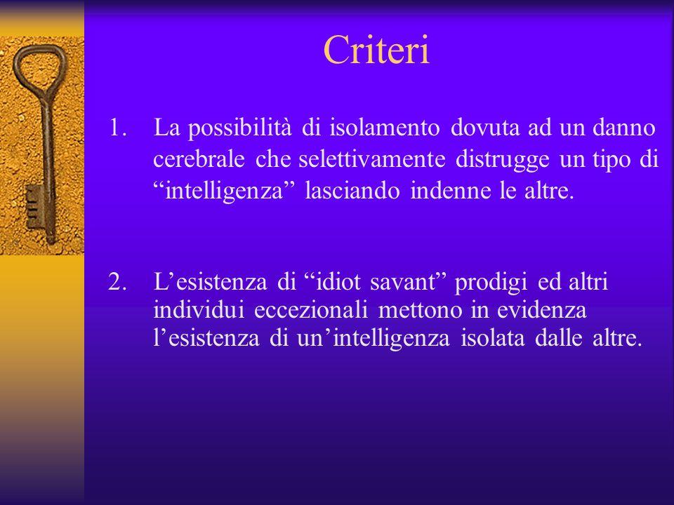 Criteri