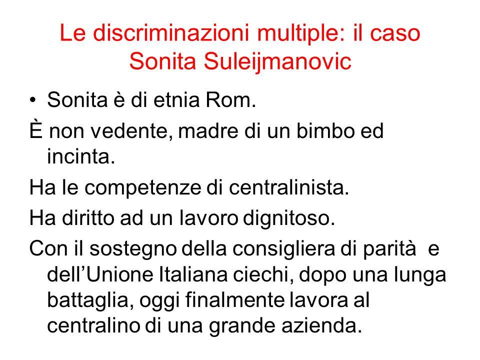 Le discriminazioni multiple: il caso Sonita Suleijmanovic
