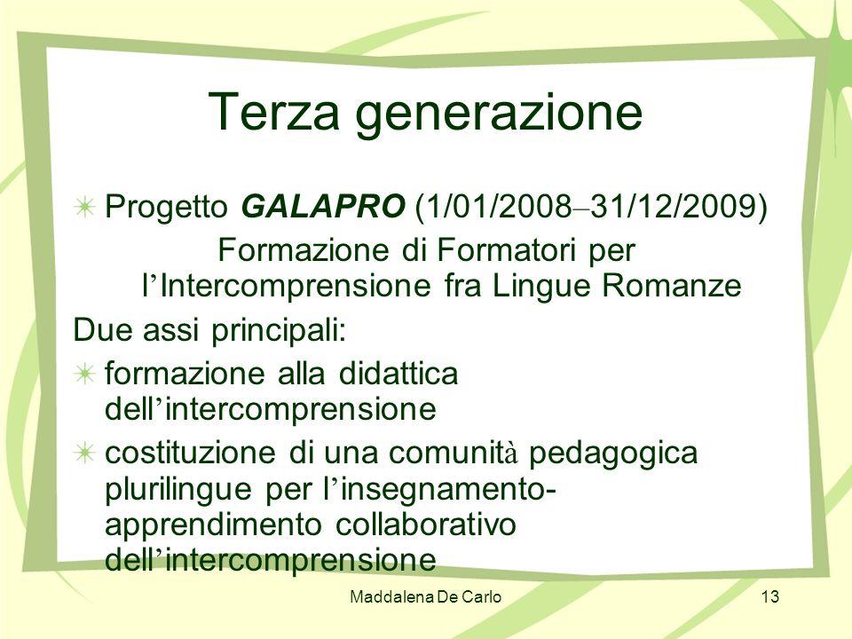 Formazione di Formatori per l'Intercomprensione fra Lingue Romanze