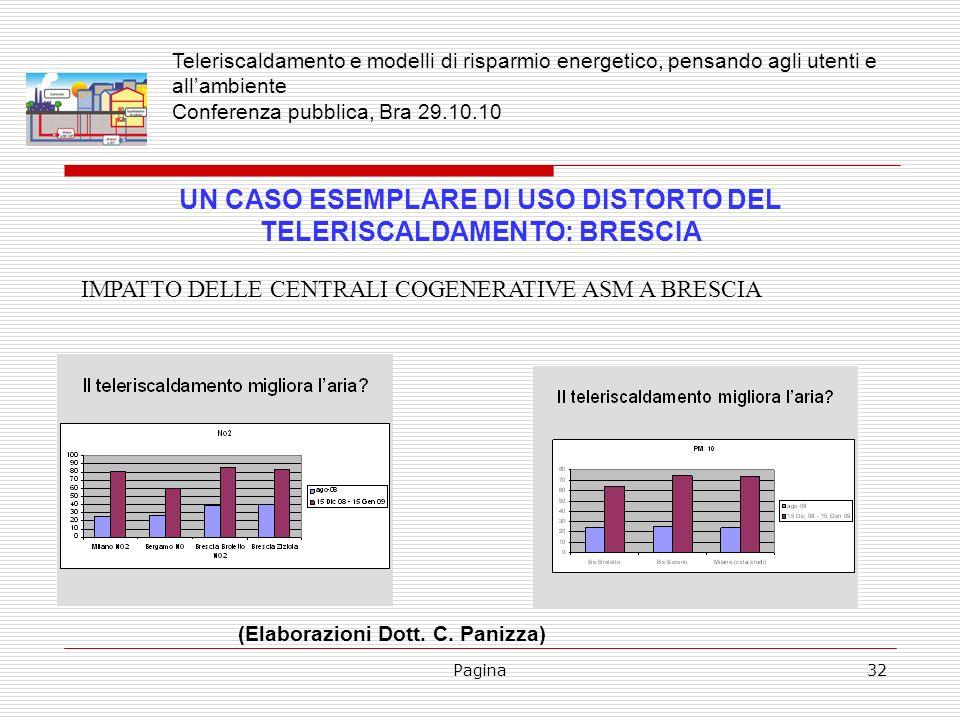UN CASO ESEMPLARE DI USO DISTORTO DEL TELERISCALDAMENTO: BRESCIA