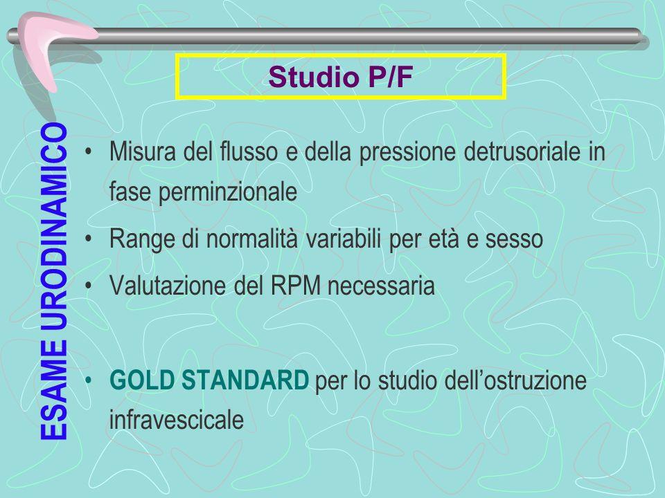 ESAME URODINAMICO Studio P/F