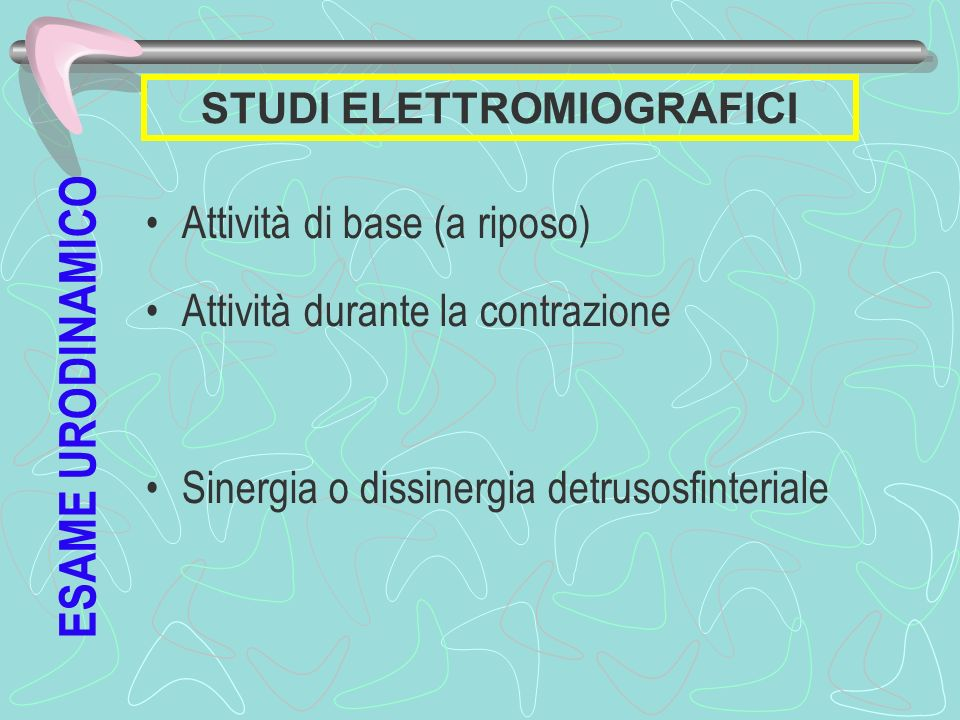 STUDI ELETTROMIOGRAFICI