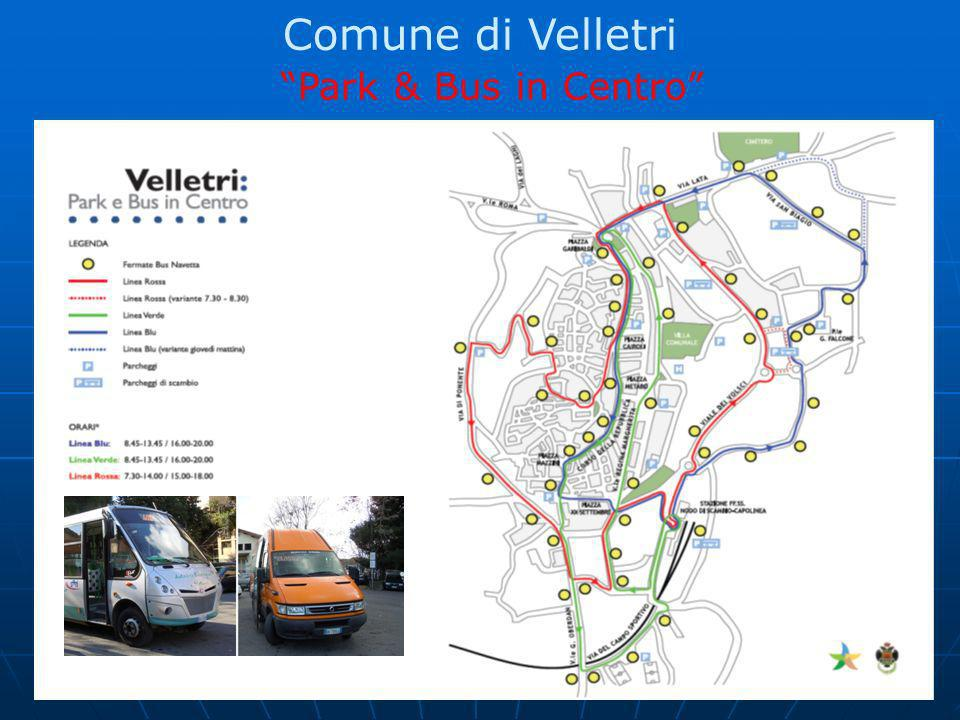 Comune di Velletri Park & Bus in Centro