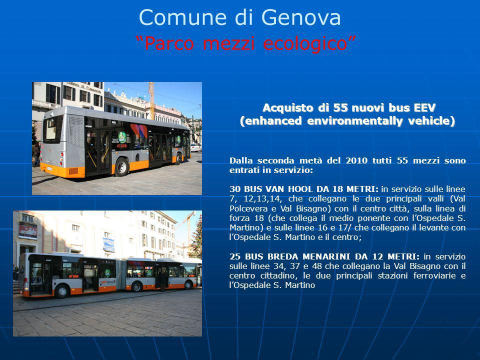 Acquisto di 55 nuovi bus EEV (enhanced environmentally vehicle)