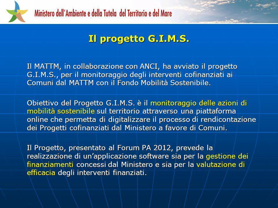 Il progetto G.I.M.S.