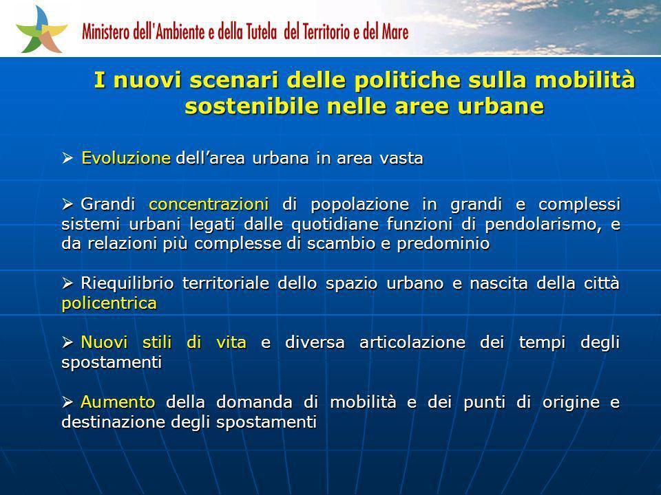 I nuovi scenari delle politiche sulla mobilità sostenibile nelle aree urbane