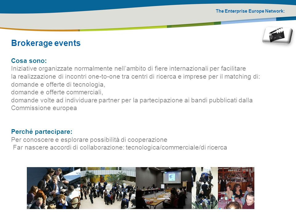 Brokerage events Cosa sono: