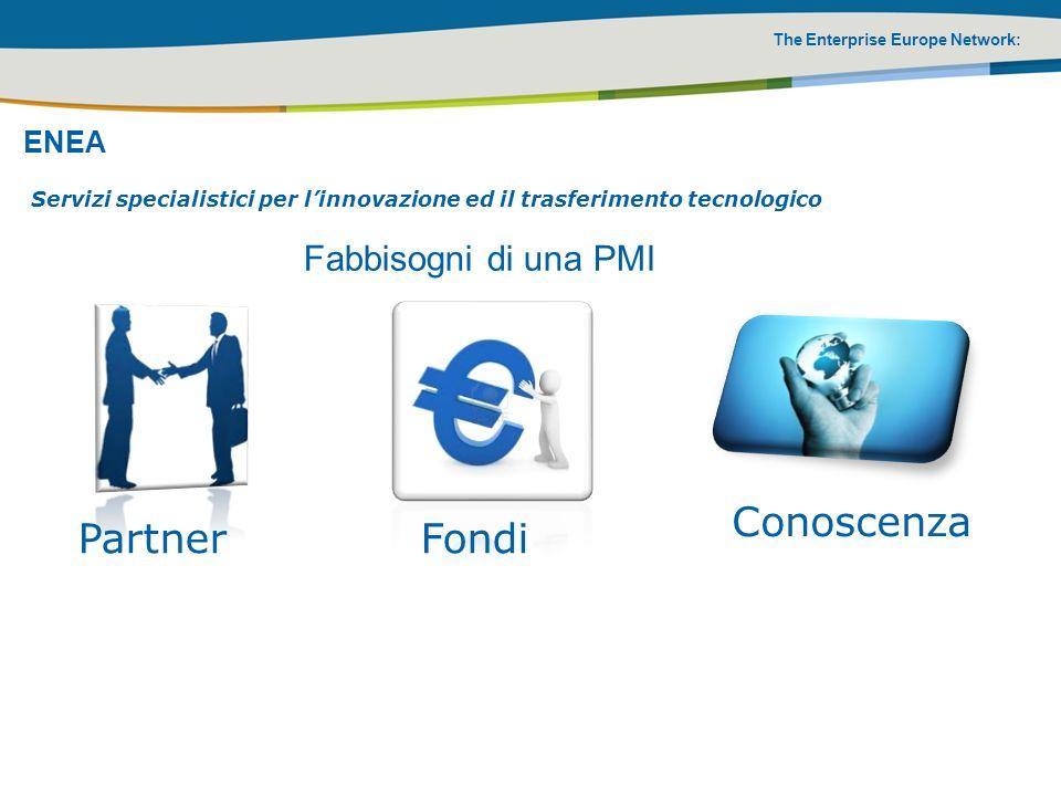 Conoscenza Partner Fondi Fabbisogni di una PMI ENEA