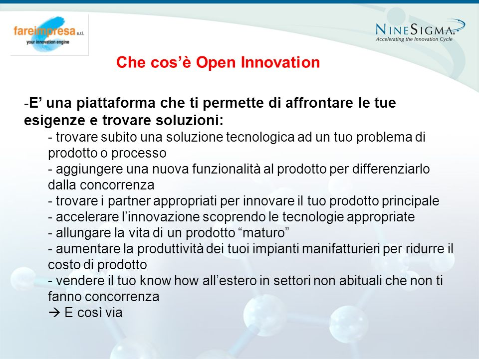 Che cos'è Open Innovation