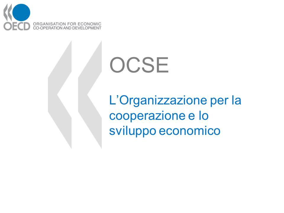 L'Organizzazione per la cooperazione e lo sviluppo economico