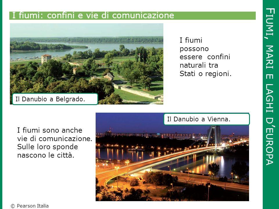 Fiumi, mari e laghi d'europa
