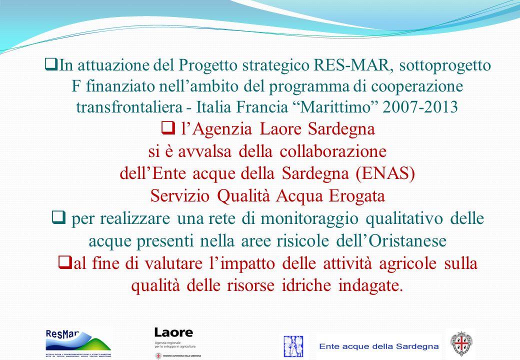 l'Agenzia Laore Sardegna si è avvalsa della collaborazione