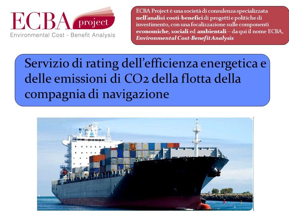 ECBA Project è una società di consulenza specializzata nell'analisi costi-benefici di progetti e politiche di investimento, con una focalizzazione sulle componenti economiche, sociali ed ambientali – da qui il nome ECBA, Environmental Cost-Benefit Analysis