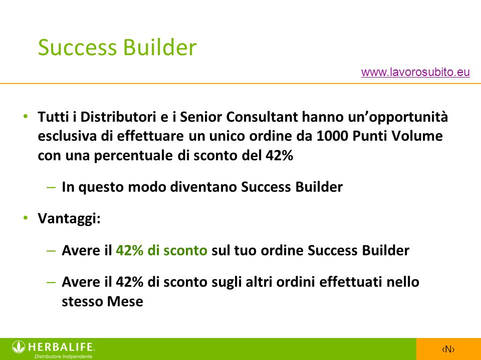 Success Builder www.lavorosubito.eu.