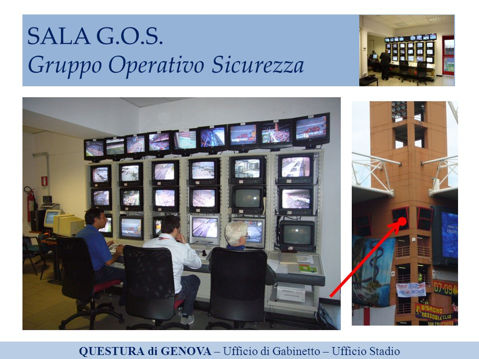 SALA G.O.S. Gruppo Operativo Sicurezza