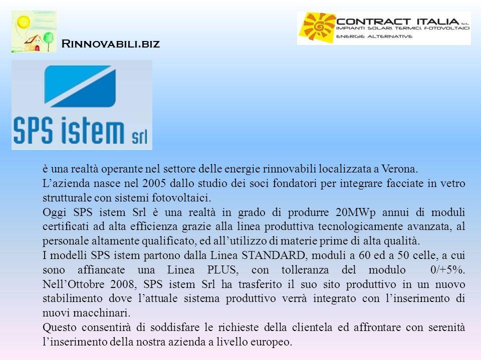 Rinnovabili.biz è una realtà operante nel settore delle energie rinnovabili localizzata a Verona.