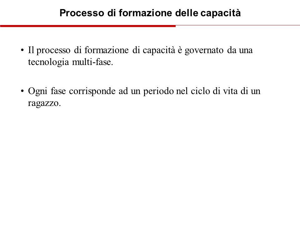 Processo di formazione delle capacità