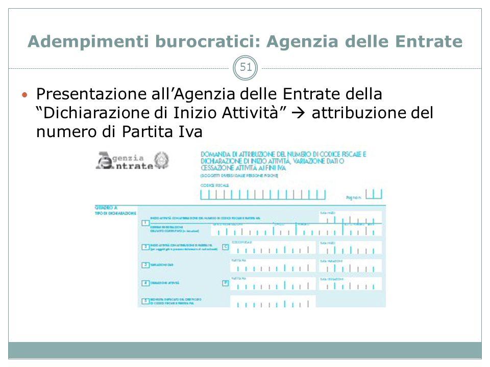 Adempimenti burocratici: Agenzia delle Entrate