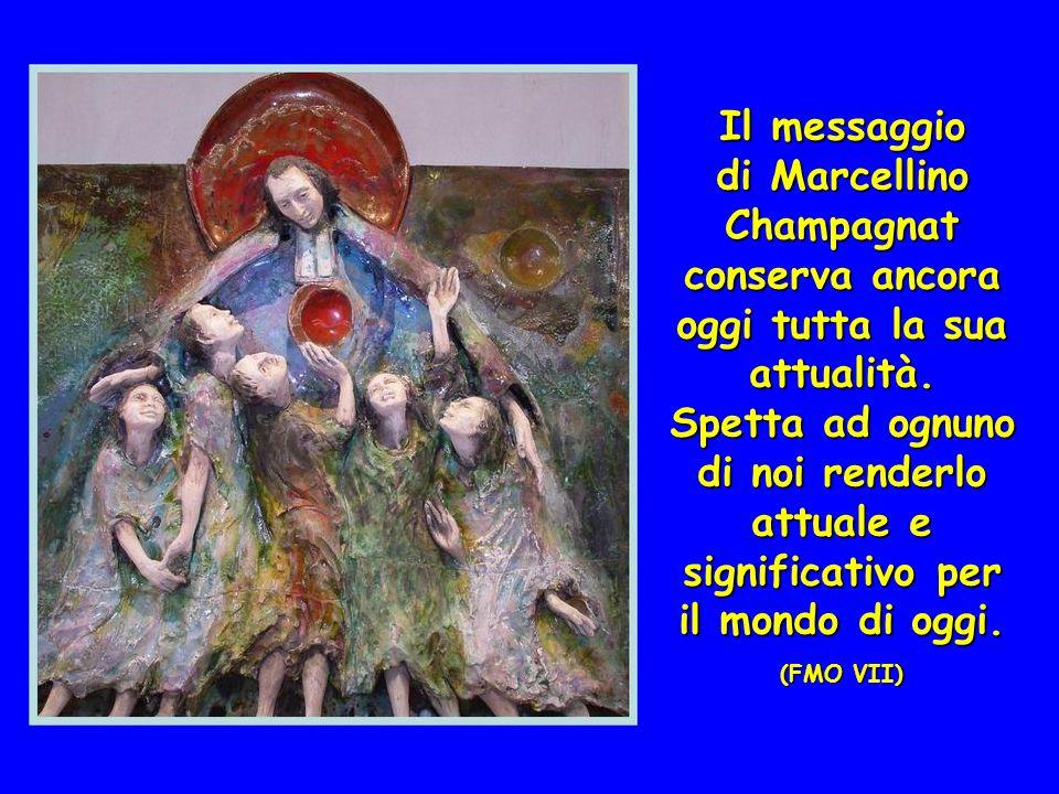 Il messaggio di Marcellino Champagnat conserva ancora oggi tutta la sua attualità.