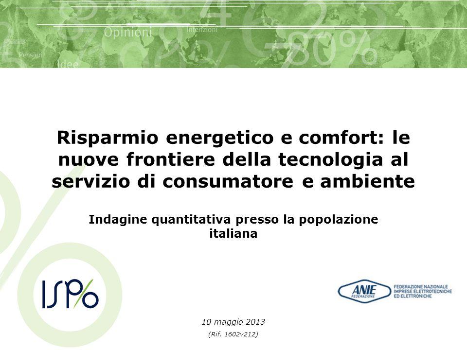 Indagine quantitativa presso la popolazione italiana