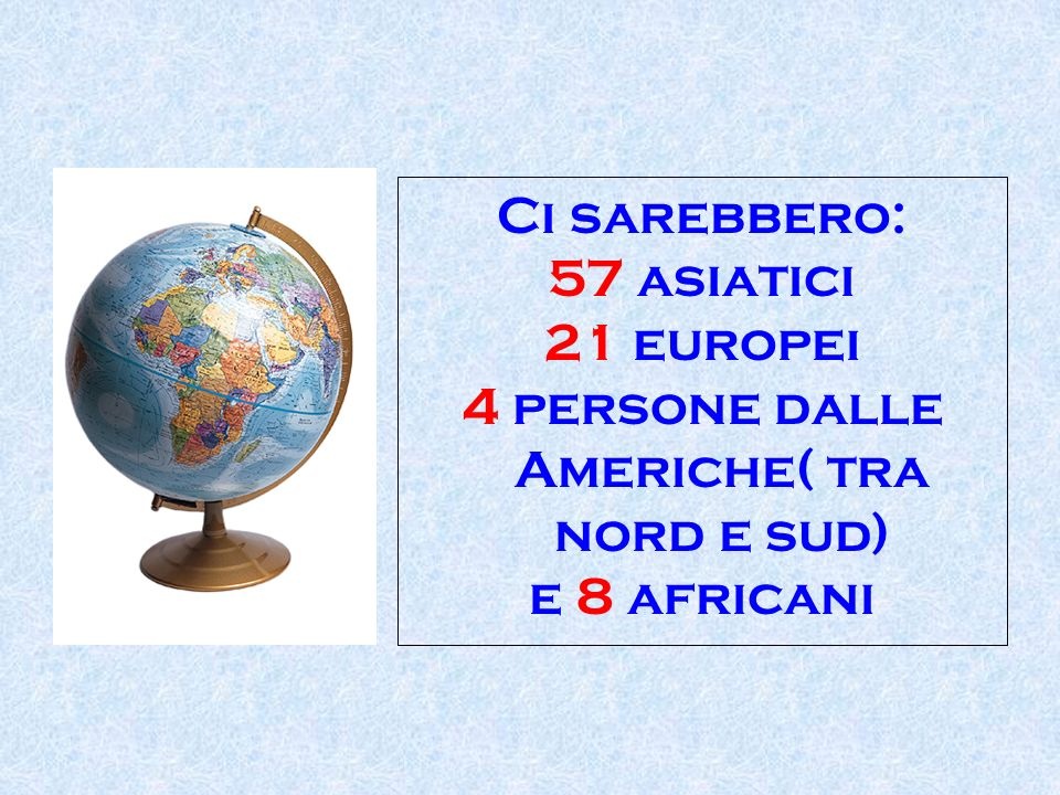 4 persone dalle Americhe( tra nord e sud)