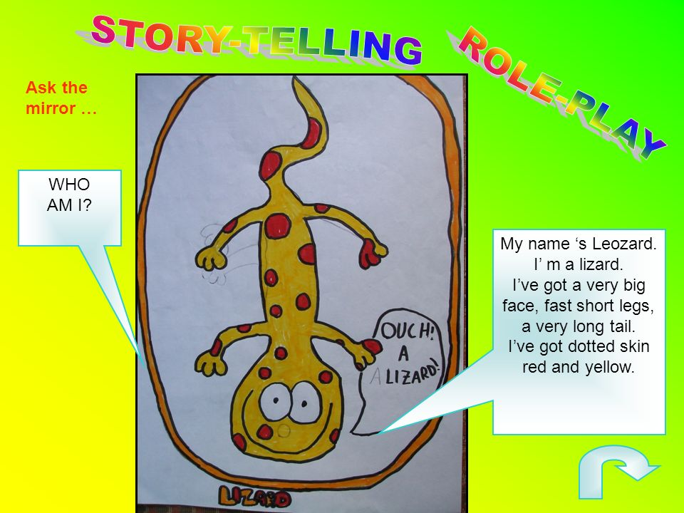 STORY-TELLING ROLE-PLAY