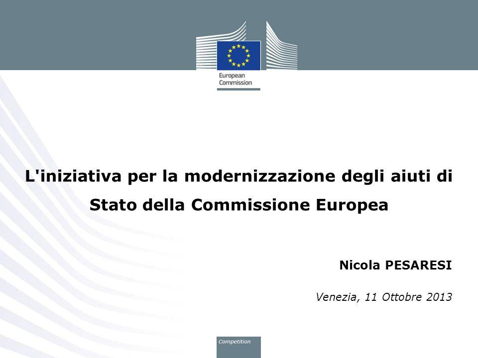 Nicola PESARESI Venezia, 11 Ottobre 2013