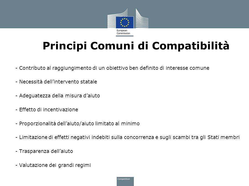 Principi Comuni di Compatibilità