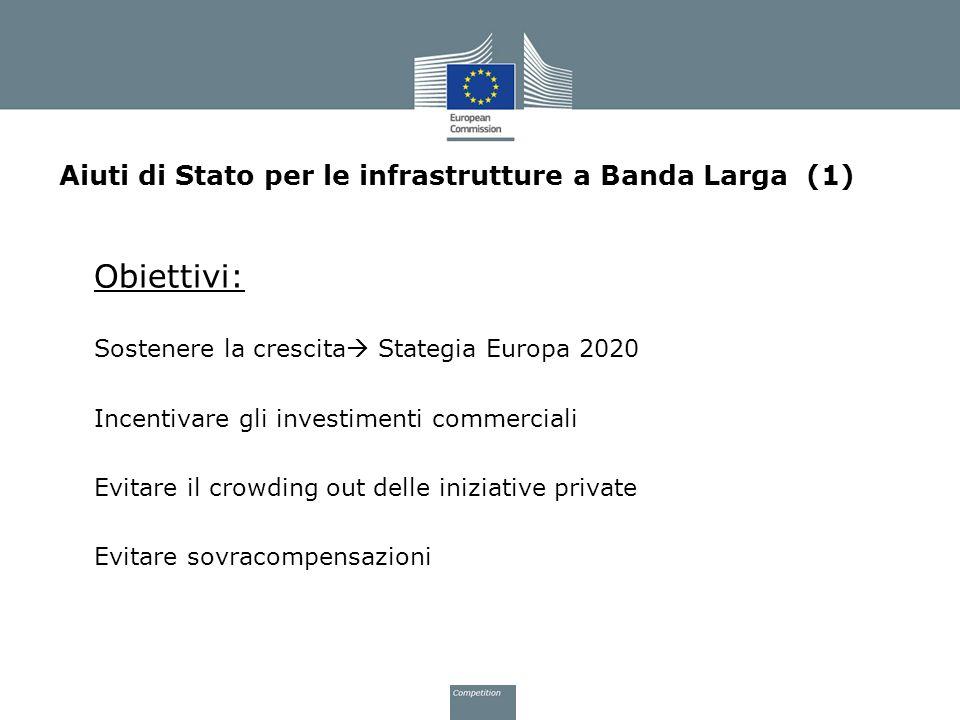 Aiuti di Stato per le infrastrutture a Banda Larga (1)