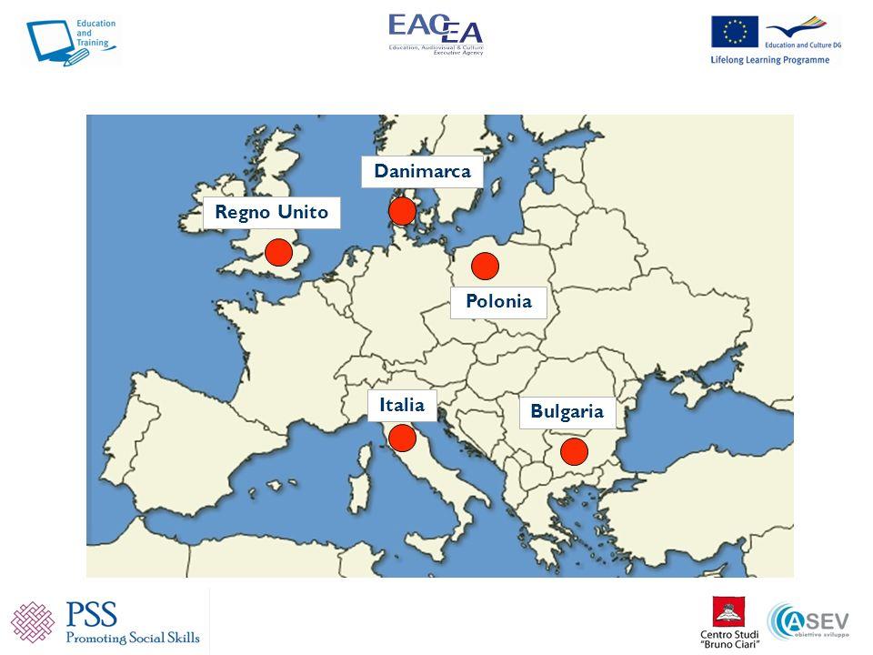 Danimarca Regno Unito Polonia Italia Bulgaria