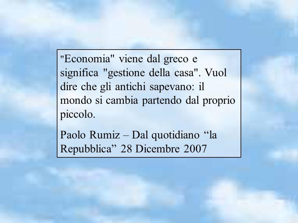 Paolo Rumiz – Dal quotidiano la Repubblica 28 Dicembre 2007