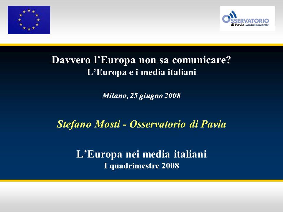 Davvero l'Europa non sa comunicare