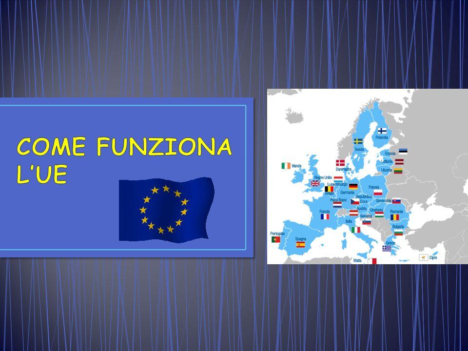 COME FUNZIONA L'UE