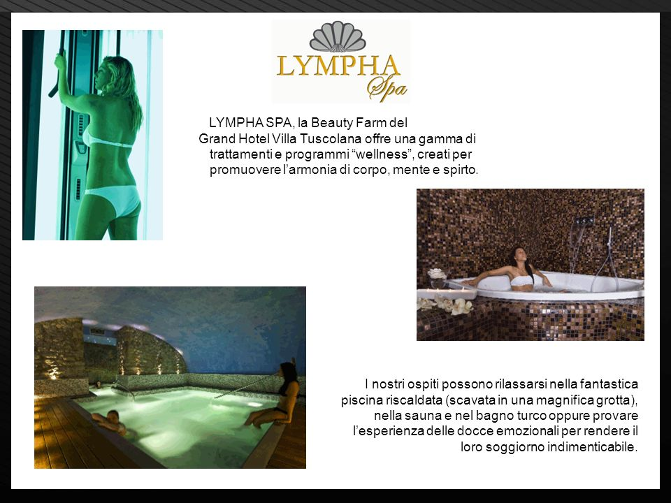 LYMPHA SPA, la Beauty Farm del