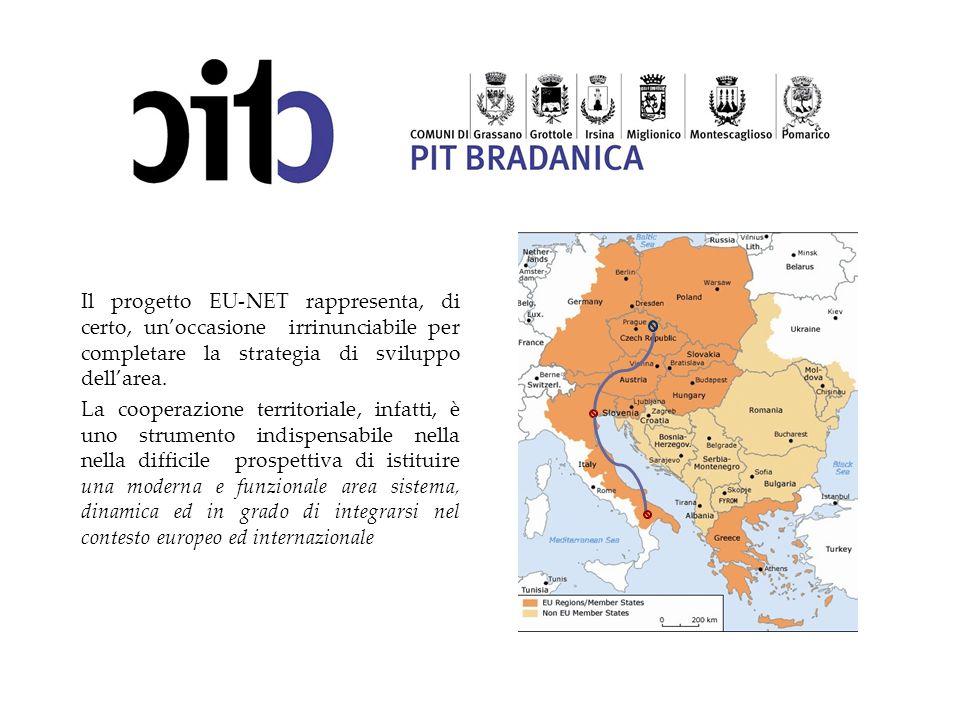 Il progetto EU-NET rappresenta, di certo, un'occasione irrinunciabile per completare la strategia di sviluppo dell'area.