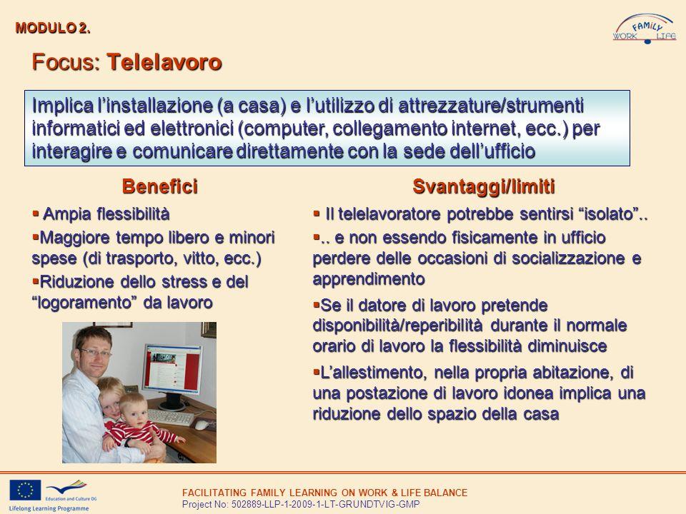 MODULO 2. Focus: Telelavoro.