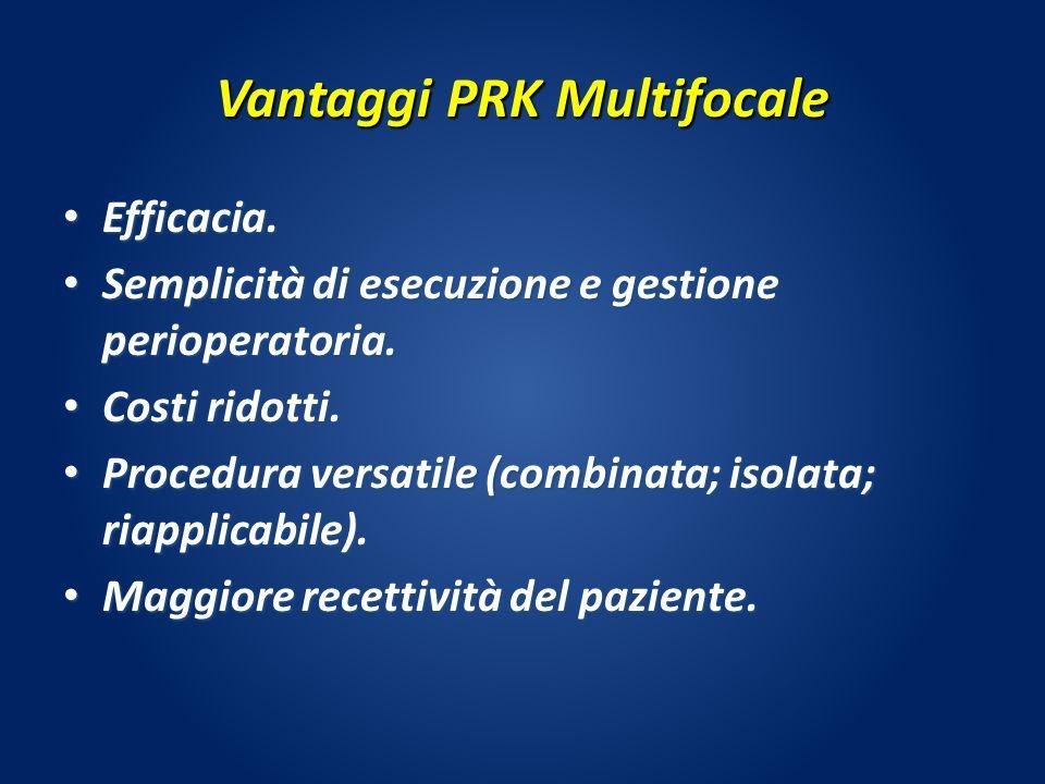 Vantaggi PRK Multifocale