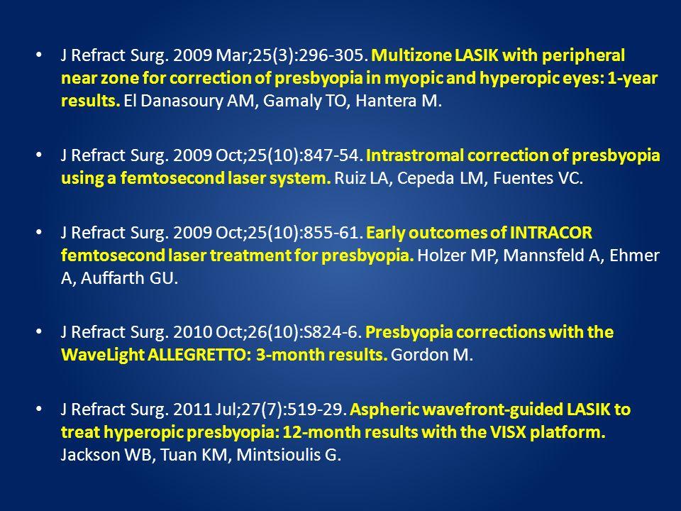 J Refract Surg. 2009 Mar;25(3):296-305