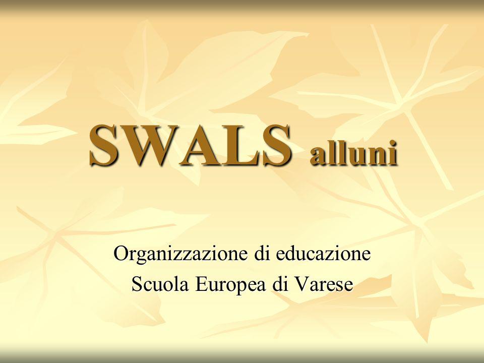 Organizzazione di educazione Scuola Europea di Varese
