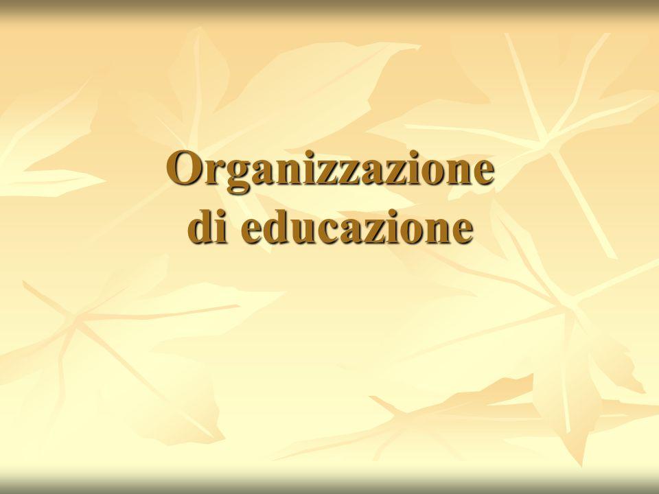 Organizzazione di educazione