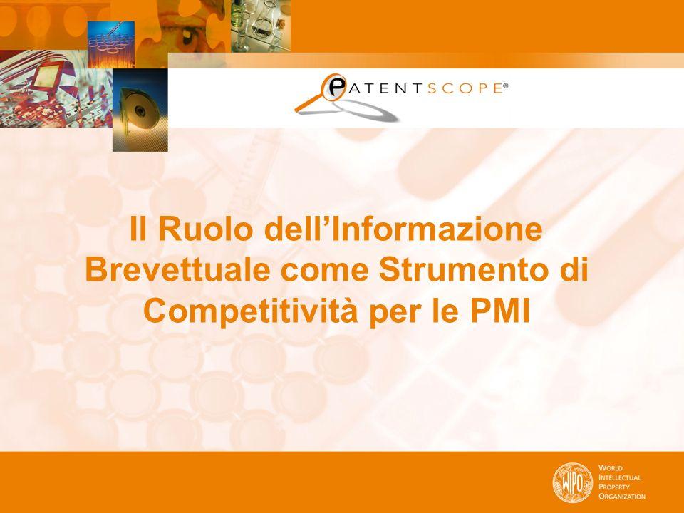 Il Ruolo dell'Informazione Brevettuale come Strumento di Competitività per le PMI