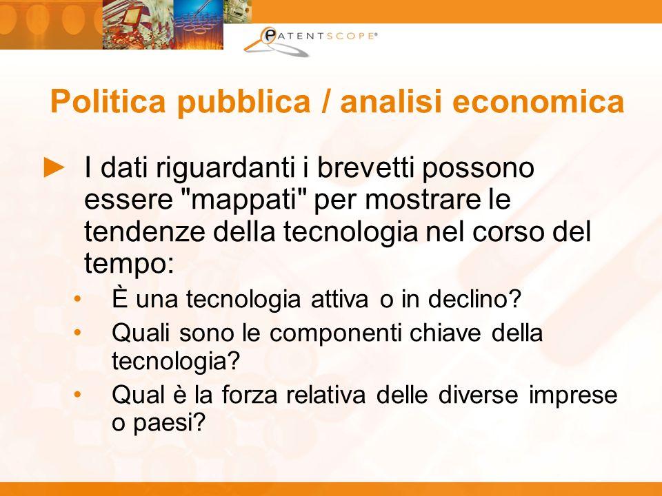 Politica pubblica / analisi economica