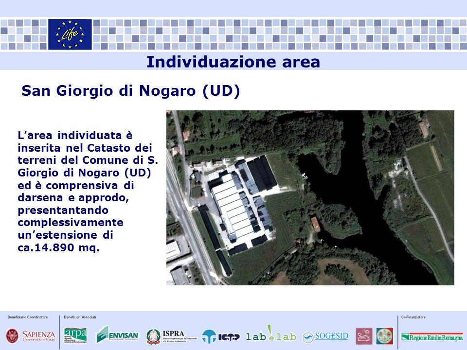Individuazione area San Giorgio di Nogaro (UD)
