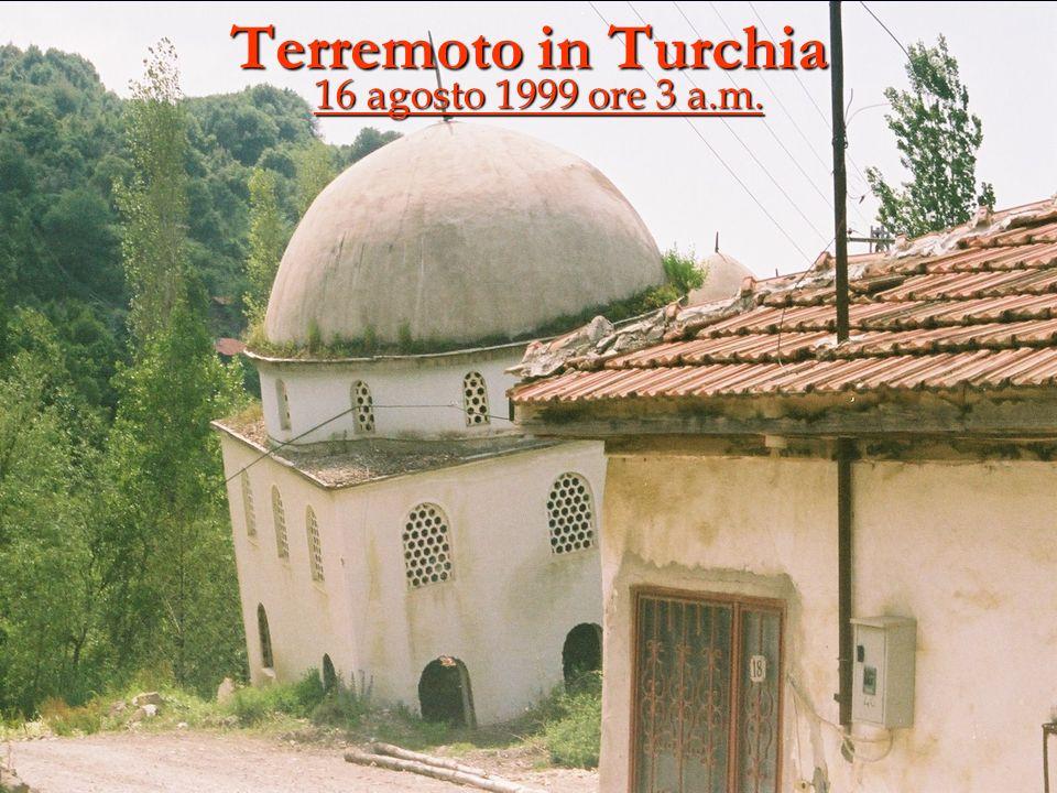Terremoto in Turchia 16 agosto 1999 ore 3 a.m.
