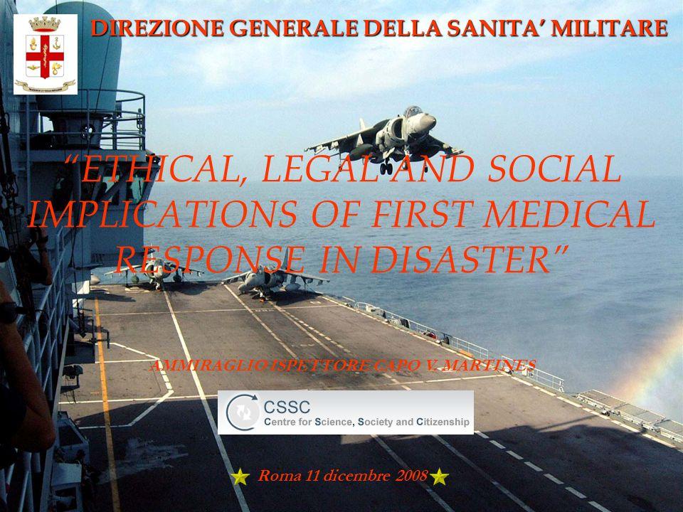 DIREZIONE GENERALE DELLA SANITA' MILITARE
