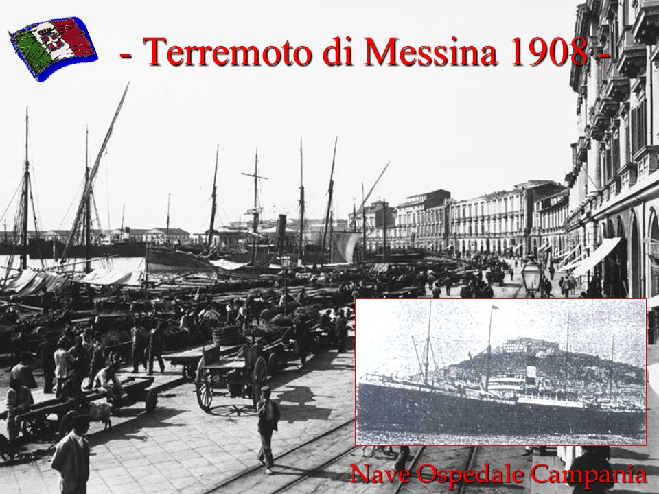 - Terremoto di Messina 1908 -
