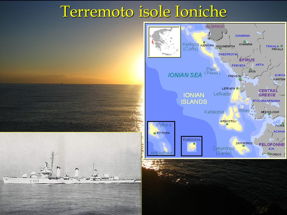 Terremoto isole Ioniche