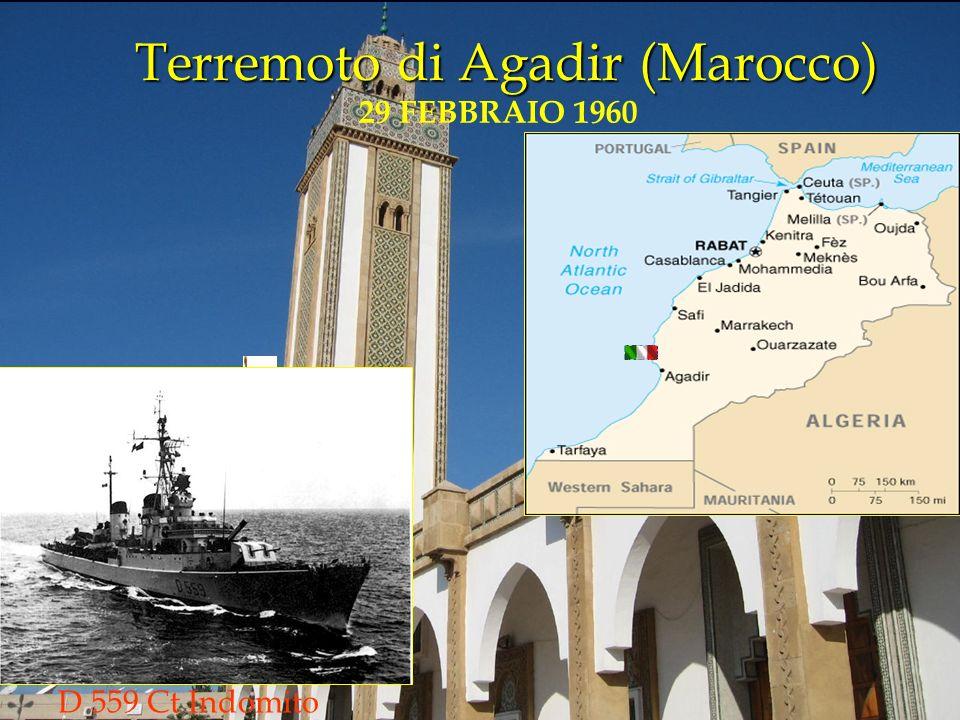 Terremoto di Agadir (Marocco)